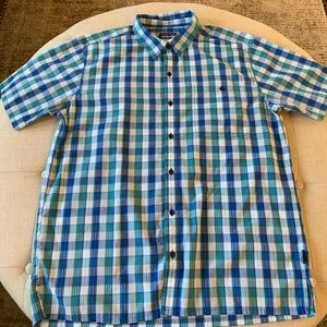 Patagonia short sleeve button down men's large